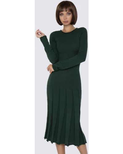 Прямое зеленое платье Anushka By Anna Pavlova