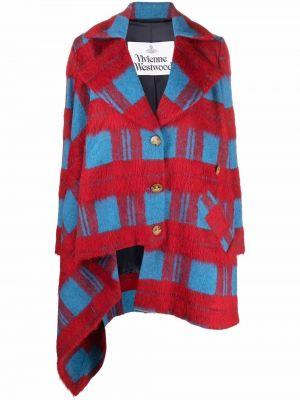 Пальто из альпаки - красное Vivienne Westwood