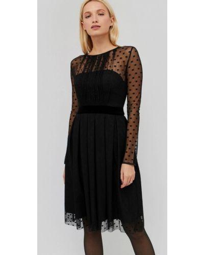 Черное вечернее платье Cardo