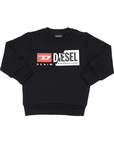 Свитшот с логотипом на шею Diesel Kids