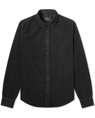Koszula - czarna Rag & Bone