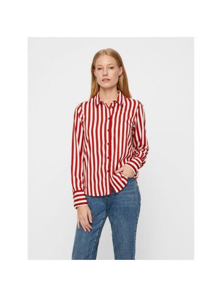 Классическая рубашка в полоску с длинным рукавом Vero Moda
