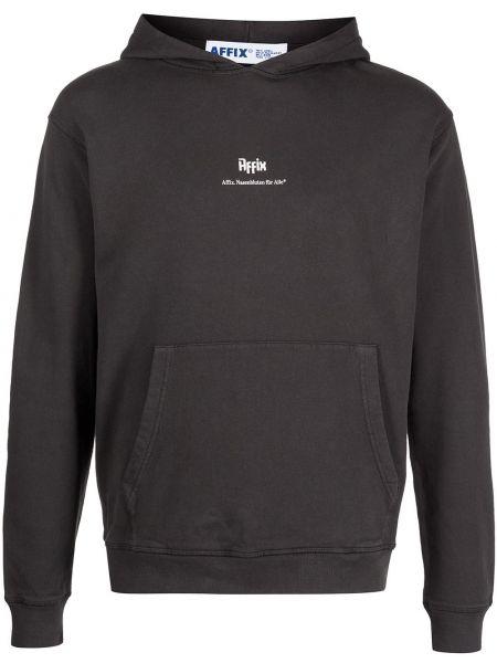 Czarna bluza bawełniana Affix