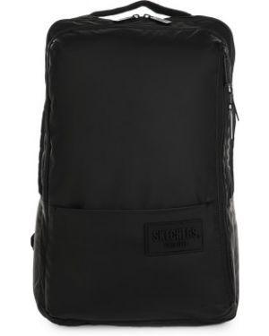 Спортивный черный рюкзак для ноутбука на бретелях Skechers