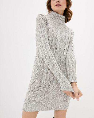Вязаное серое платье Brave Soul