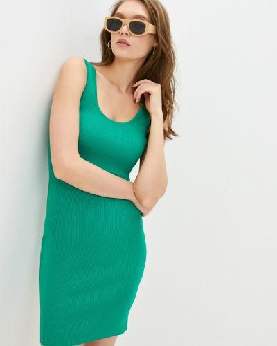 Зеленое джинсовое платье Guess Jeans