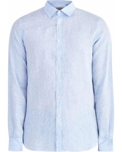 Классическая рубашка льняная итальянский Canali