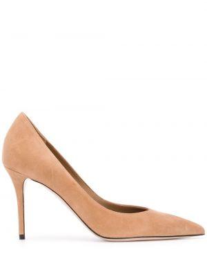 Кожаные туфли-лодочки на каблуке на высоком каблуке Le Silla