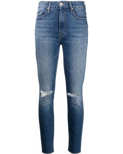 Синие джинсы классические Mother