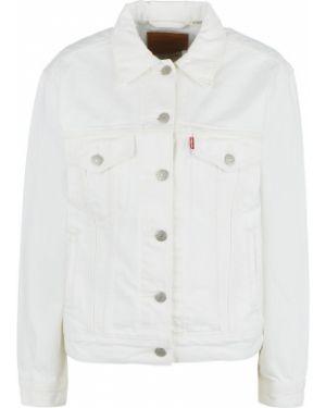 Джинсовая куртка укороченная белая Levi's®