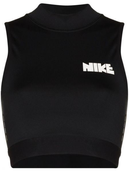 Спортивный топ - черный Nike