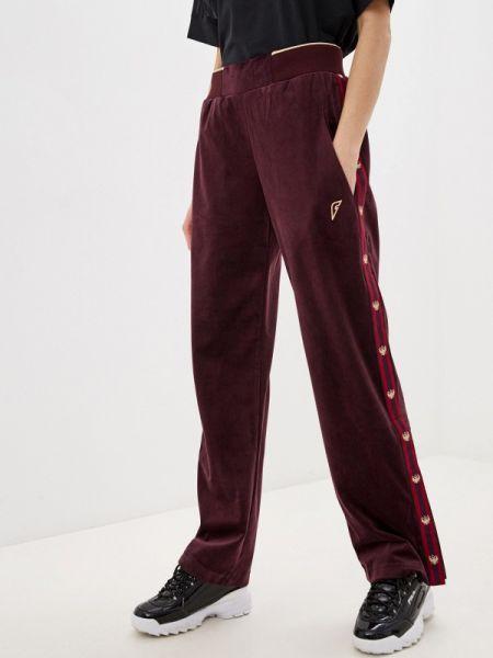 Спортивные брюки бордовый красный Forward