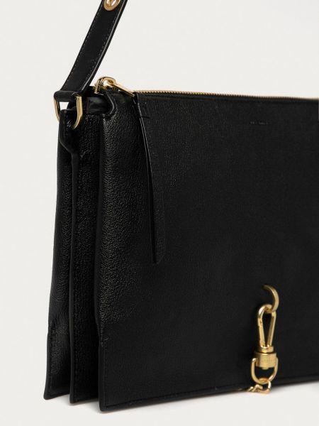 Кожаная сумка Allsaints