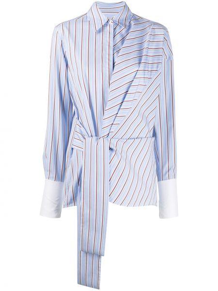 Рубашка с длинным рукавом с запахом Victoria, Victoria Beckham