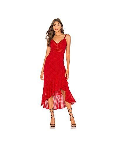 Платье миди в горошек деловое Tularosa