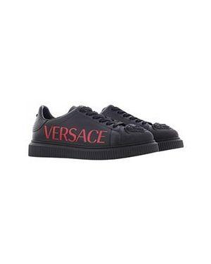Кеды черные Versace
