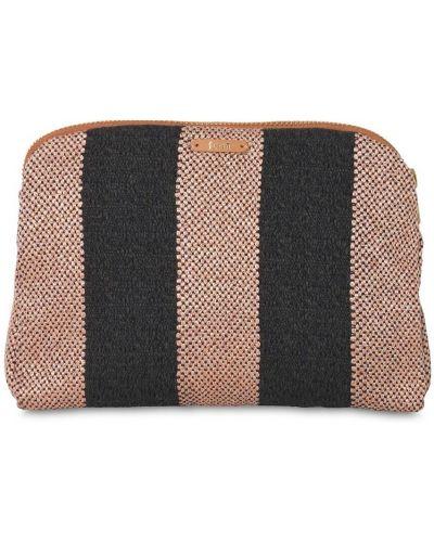 Brązowy portfel bawełniany Ferm Living