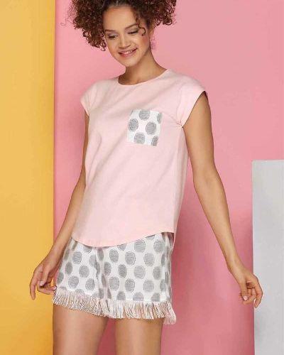 Пижамная футболка с бахромой Sevim