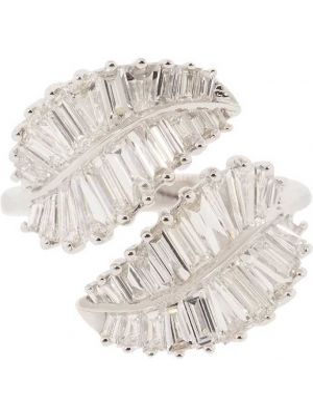 Pierścień ze srebra biały Anita Ko