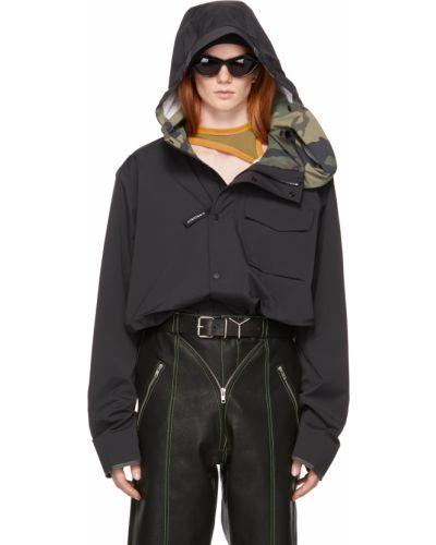 Черная трикотажная куртка Y/project