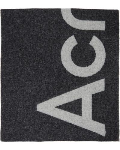 Okulary srebrne - białe Acne Studios