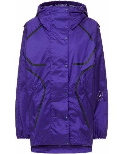 Фиолетовая куртка с карманами с манжетами Adidas By Stella Mccartney