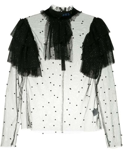Блузка черная Macgraw
