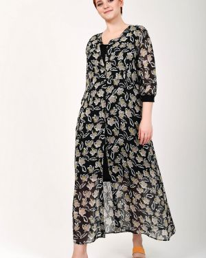 Платье из вискозы Lecomte