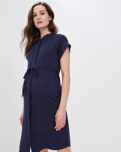 Платье для беременных платье-рубашка весеннее Mama.licious