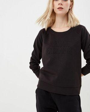 Черный свитшот Armani Exchange