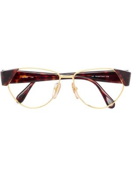 Желтые очки металлические Missoni Pre-owned