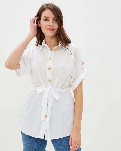 Блузка с коротким рукавом белая River Island