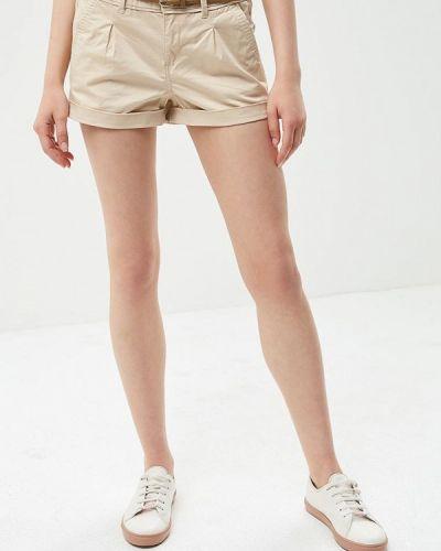 Бежевые шорты Jennyfer