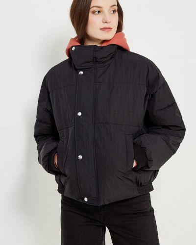 Черная утепленная куртка Free People