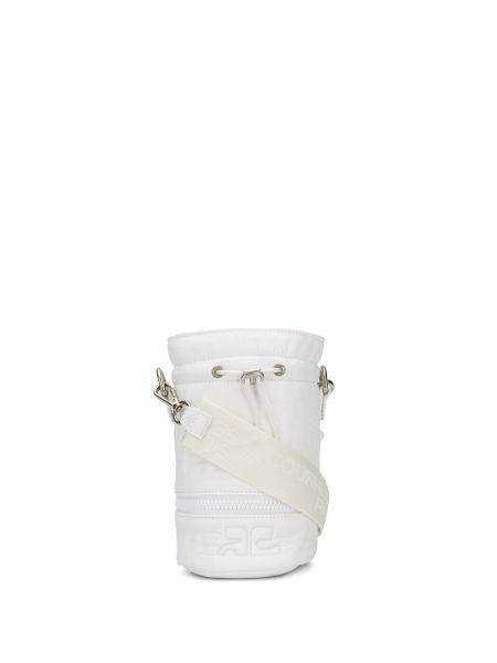 Biała torebka z siateczką Courreges
