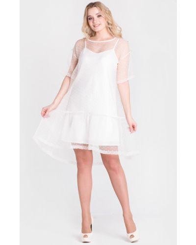 Вечернее платье летнее из органзы Filigrana