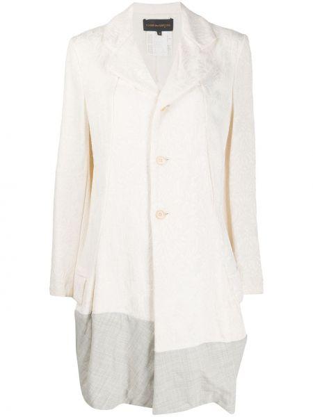 Długi płaszcz klasyczny wełniany Comme Des Garçons Pre-owned