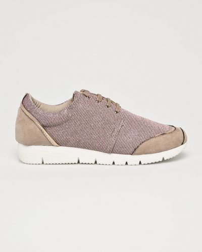 Кроссовки на шнуровке текстильные Corina