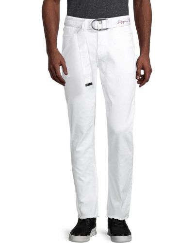 Białe włoskie jeansy Zadig & Voltaire