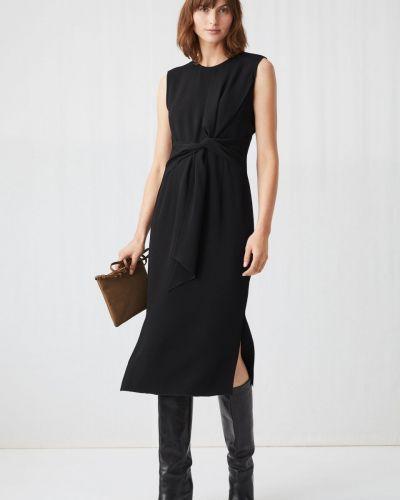 Шелковое платье - черное Arket