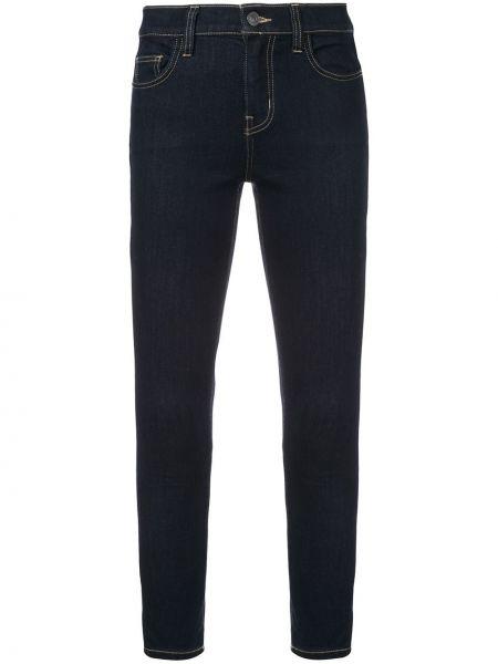 Укороченные джинсы с пайетками на пуговицах с поясом в стиле бохо Current/elliott