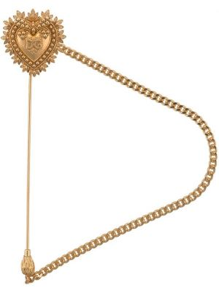 Брошь из серебра Dolce & Gabbana