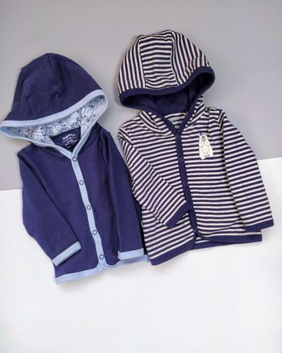 Хлопковая кофта с капюшоном Lupilu