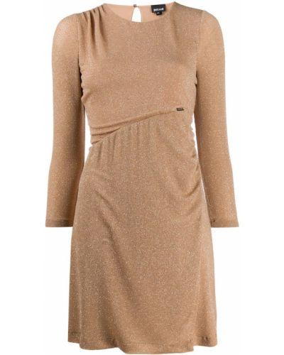 Платье мини с вырезом Just Cavalli