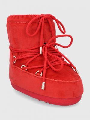 Бархатные сапоги Moon Boot