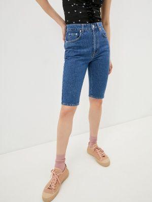 Синие джинсовые шорты Chiara Ferragni Collection