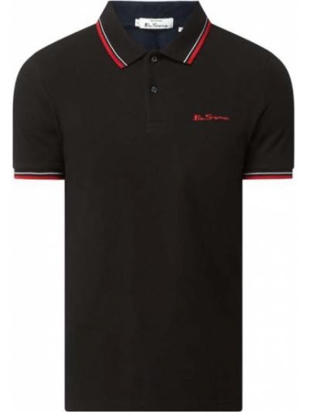 Czarny t-shirt bawełniany Ben Sherman