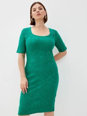Зеленое весеннее платье Marytes