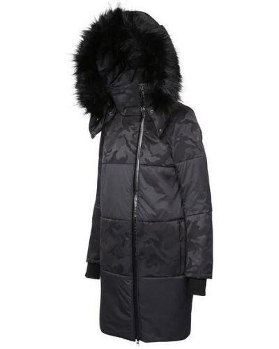 Куртка черная на молнии Kanuk