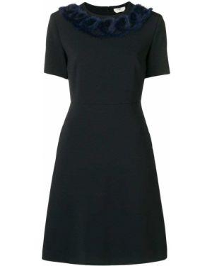Платье мини приталенное итальянский Fendi